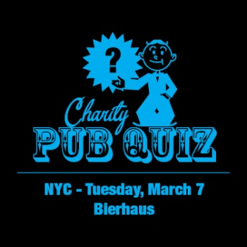 QUIZ FOR A CAUSE: SG CHARITY PUB QUIZ NYC - MARCH 7 Image