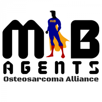 MIB Agents for Kids with Bone Cancer -Osteosarcoma, 100% Volunteer