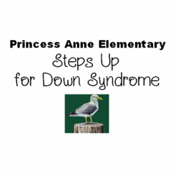 Princess Anne Elementary School Steps Up For Down Syndrome