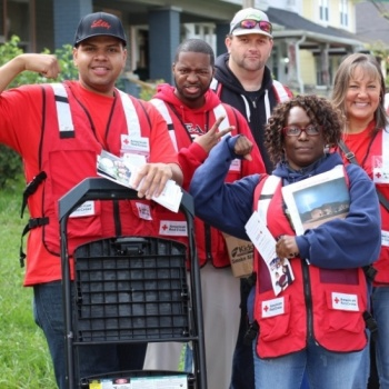 Central Indiana, IN Board Sound the Alarm Campaign