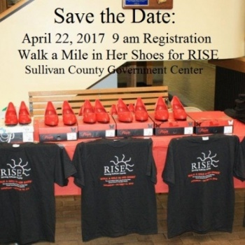 RISE CRMC Walk A Mile In Her Shoes