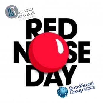 Windsor Resources & Bond Street Group for Red Nose Day!