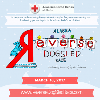 Alaska's Reverse Dog Sled Race