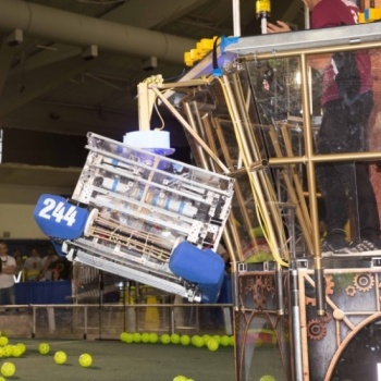 Send the RoboDawgs to both the VEX and FRC World Championships!