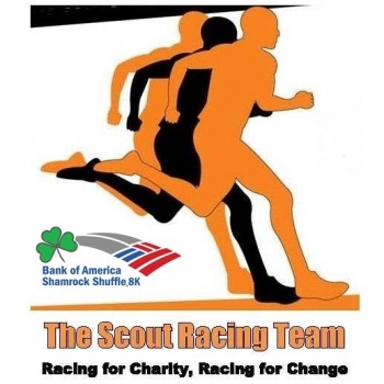 The Scout Racing Team - Running the Shamrock Shuffle for SOS Children's Villages Illinois Image