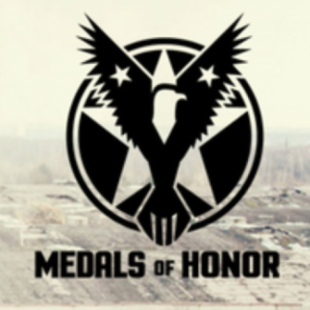 Team Medals of Honor running to Honor the Sacrifice at the Marine Corp Marathon