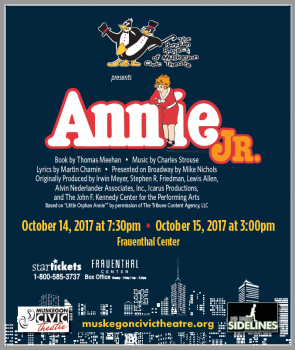The Penguin Project of Muskegon Civic Theatre presents Annie Jr.