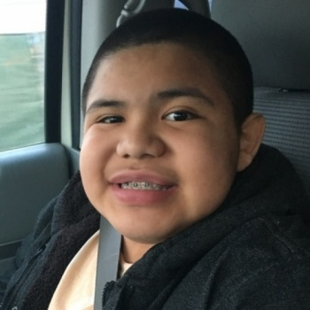 Solomon, 12 - Muscular Dystrophy - I wish to go to WrestleMania