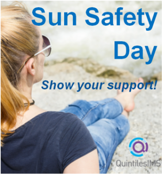 QuintilesIMS Colleagues Against Cancer Sun Safety Day