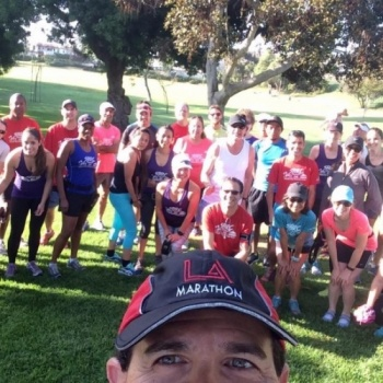 2017 TCS-NYC Marathon and South Bay Runners Club-Volunteer that unites South Cal runners and walkers