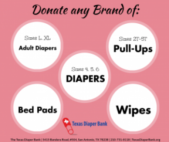 MOMS Club of New Hanover Township for the Texas Diaper Bank Image