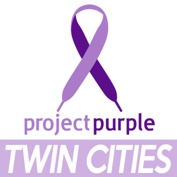 Project Purple Twin Cities Marathon