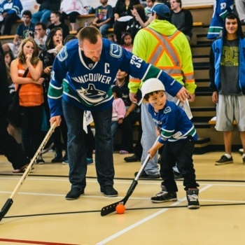 Canucks For Kids - Ball Hockey Skills Contest 2017 Image