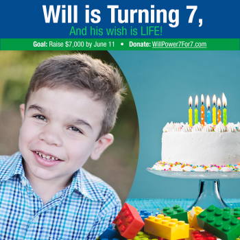 WILL Power 7 for 7 Campaign