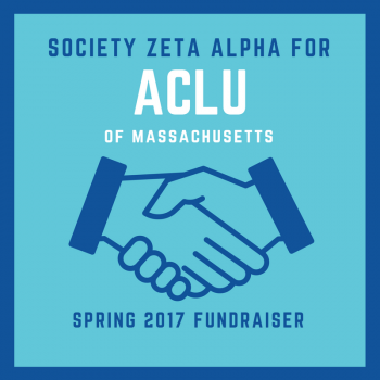 Zeta Alpha Fundraises for the ACLU