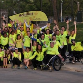 NYC TRI with team Achilles