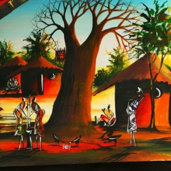 Donate art for african students