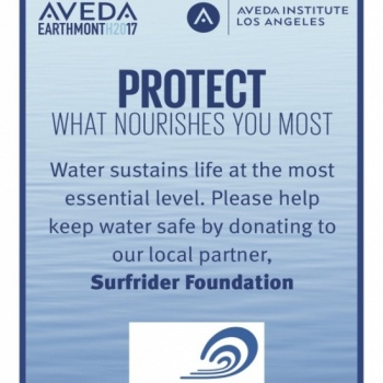 Aveda Institute Los Angeles - Earth Month 2017