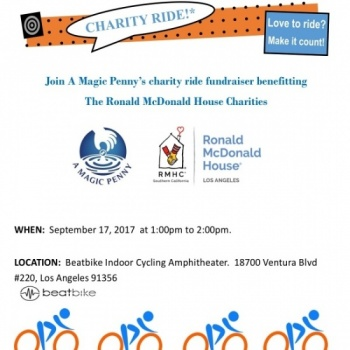 CHARITY RIDE Benefitting The Ronald McDonald House Los Angeles