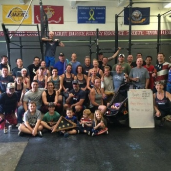 CrossFit to the Core Supports Combat Vets
