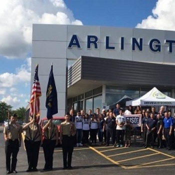 Arlington Heights Ford's BBQ FOR THE TROOPS- July 15th, 2017