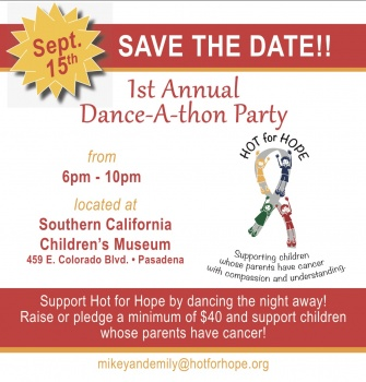 Hot for Hope's 1st Annual Dance-A-Thon
