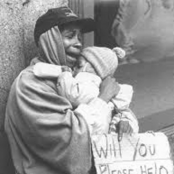 HOMELESS ARE HUNGRY