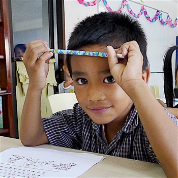 Provide education for 100 children in the Philippines