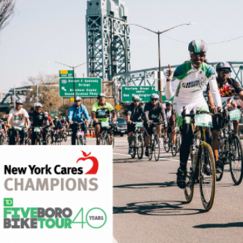 2017 TD Five Boro Bike Tour - Cares Champions Image
