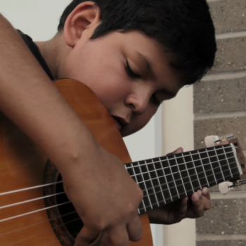 Esteban, 11: Guitar Lessons