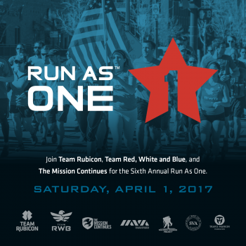 Run As One:  Nashville, TN  8:00am