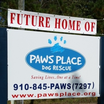 Raise The Ruff for Paws Place Dog Rescue!