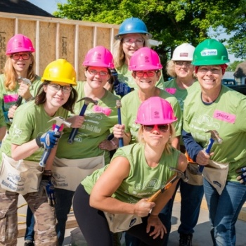 Knoxville Habitat for Humanity Women Build 2017