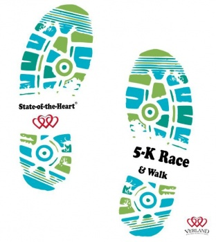 2nd Annual State-of-the-Heart® 5K Race & Walk