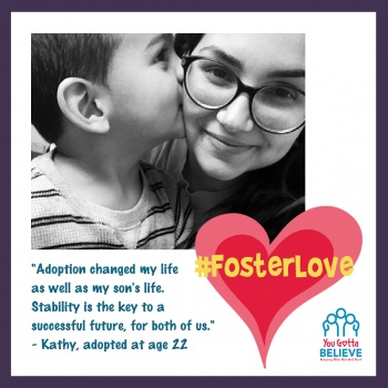 #FosterLove with YGB for National Foster Care Awareness Month Image