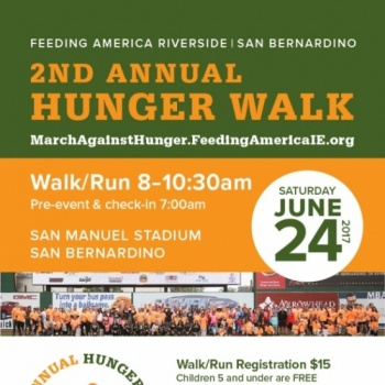 2nd Annual Hunger Walk TEAM SIGN UP