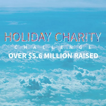 CrowdRise Holiday Charity Challenge Image