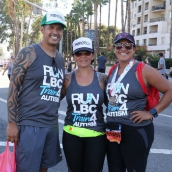 Train 4 Autism Long Beach Marathon 2017