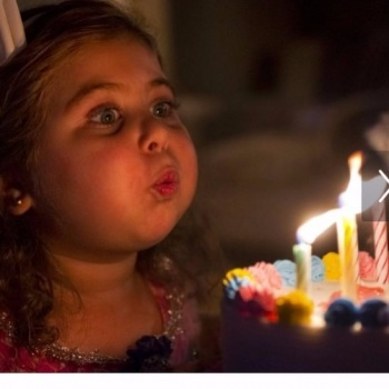 I want to Share My Birthday with Little Birthday Angels