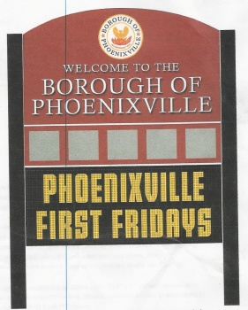 Phoenixville Interservice Club Sign