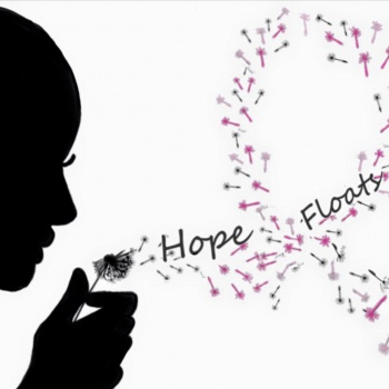 "Hope Floats to benefit the Donna Foundation ""It starts with a wish; it's finished with a cure""."