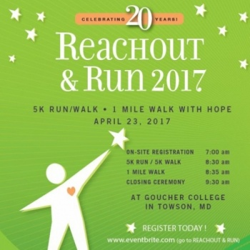 Erin Gillard - Reach Out and Run 2017