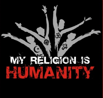 A cause for Humanity - we are ALL members of the human race. Image