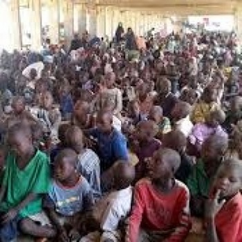 Refugees and internaly displaced children in Nigeria