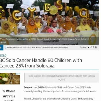 Cancer Care - Set aside your little fortune to help them