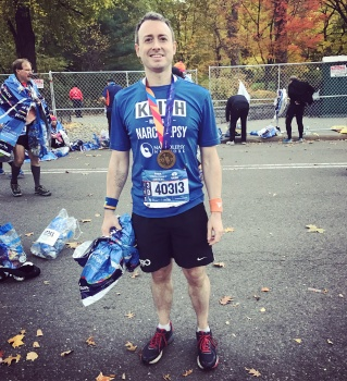 2017 NYC Marathon - Running for Narcolepsy Network