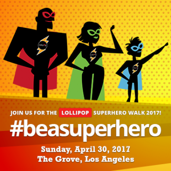 LOLLIPOP Superhero Walk 2017