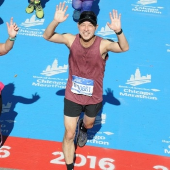 Mark Ito's Marathon run for WEF