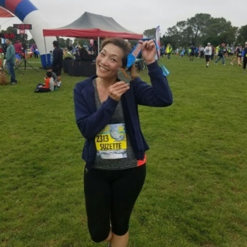 RUNNING TO HELP PREVENT CHILD ABUSE