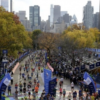 Support Amelie and Concern for NYC Marathon! Image